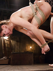 Step sister gets rough sex and strict bondage from step brother. Hard, pounding dominating fucking, fisting while completely immobilized, taboo rolepl