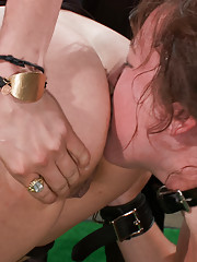 Taking Doggy-style to the next level: Alexxa Bound is everyones favorite pet puppy. She licks, barks, rolls over and takes cock like an obedient bitch