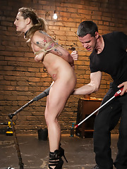 When porn star Bailey Blue says she wants to be a slave, she learns the hard way that submission is more than getting tied up and fucked.