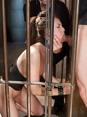 When slave trainee Casey Calvert is told all leather is earned, she realizes that it might be harder than she though to graduate from slave training.