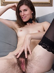 Kiyoko enjoys being an erotic hairy entertainer