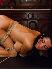 Rough bondage sex storyline feature with anal MILF!!!