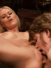 Training a porn fluffer to keep cocks hard and pussies wet all day