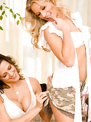 Peek in on Amie Jo Heffner and Kelly Johnston as they share a passionate girls night in.�
