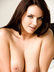 Straight from our Indianapolis Casting Call: a beautiful brunette with curves that go on forever�