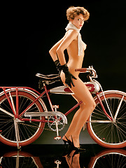 One from the Playboy vault: A never-before-seen pictorial featuring classic Playmates with vintage bikes, shot in 1984.…