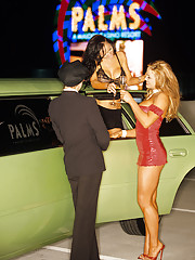 Our trio of sexy ladies will drive you crazy with their lusty limousine antics.�