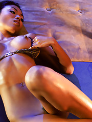 This petite Canadian beauty is the perfect combination of exotic and erotic.�