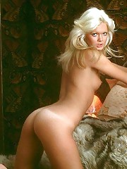 You probably remember Patricia Margot McClain as our November 1975 cover girl. She was shown sitting in a movie theater holding - uh - a box of popcorn on her thigh. Saucy, sexy and outspoken, Patricia has a Mae West�