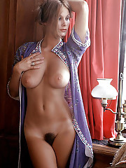 """January Playmate Nancy Cameron isn"