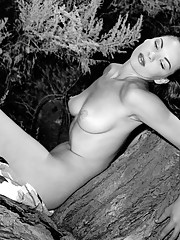 """""""During the Fifties and early Sixties, Madeline appeared as a pin-up in nearly 100 books and magazines. Her Playmate shot, by Jack and Jean Drebert, features an uninspired pose. As Hefner observes, """"""""Playboy"""