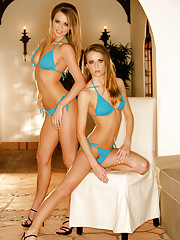 """""""The Campbell twins posed briefly for Special Editions before sitting for their Playmate test. """"""""I have always dreamt of posing for Playboy,"""""""" wrote Jennifer in her data sheet. Natalie echoed that sentiment, adding that�"""""""