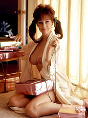 Playmate of the Month - Lorrie Menconi  Published February 1969  Photography by Bill Figge and Ed DeLong    TUESDAY