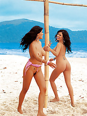 Playmate of the Month December 2003 - Deisy and Sarah Teles…