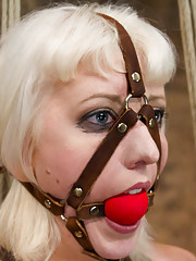 When Cherry Torn is caught on HogTied Live she is mangled by rope, clamps, whips and two sadistic pricks that cannot stop fucking her up.