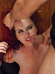 Dominatrix is reduced to a submissive fuck doll.