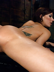 Super Babe squirts out a fire in the barn! Sexy orgasms, pounding, dominating machines that leave her sitting in a puddle of her own cum