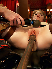 When the House shows off their newest slave girl, she takes big demanding dick in the ass and shared the cum with her slut sister.