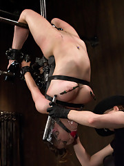 Young and flexible slut gets the wrath of two sadistic Tops