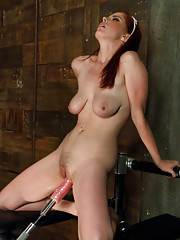Sexy & fearless - Penny Pax fucks cocks the size of her head, gets ass pounded, ATM & cums multiple times from custom machines all while looking cute!