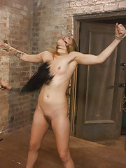 New girl tied up, dominated and fucked!