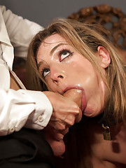 When Bailey Blue fails the House, she is sent to Training of O to learn to fuck better, and now she returns to the Upper Floor be redeemed.
