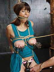 Brand New Big Tits and Beautiful Pussy on the Line for HogTied!
