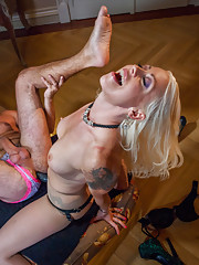 Episode 1: Maitresse Madeline and Lorelei Lee travel to Prague in search of worthy Czech slaveboys to add to their collection of man toys. CBT, EDGING