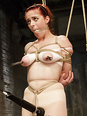 Anal Slut Penny Pax takes it in the Ass for HogTied!