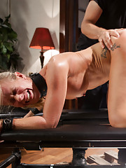 When Hot MILF Simone Sonay comes to Training of O, we teach her how to serve cock in a domestic setting.