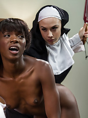 Ana Foxx joins a convent in hopes of changing her ways but finds a life void of sin means submitting to the wicked Mother Superior
