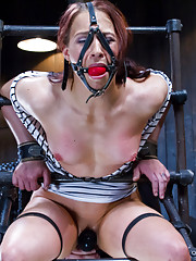 Total domination, brutal torment, and destructive bondage break Cheyenne down.