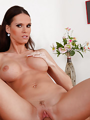 Gorgeous Housewife Jennifer Dark loves to suck and ride fat cock.