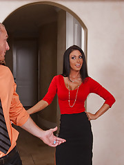 Sexy Jessica Jaymes office assistant is married, but that doesn