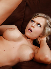 Hot blonde girl seduces married guy so she can get her wet pussy fucked.