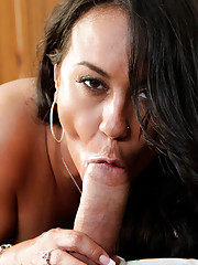 Horny Housewife Mariah Milano knows how to take care of her man with a well deserved fuck and a proper blow job.