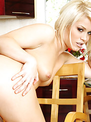 Ash Hollywood fucks her neighbor after teasing him with her skimpy outfit.