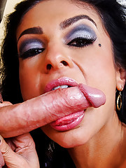 Tanned Persia Pele gets fucked doggystyle.
