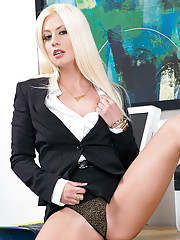 Hot babe Jessie Volt decides to have her tight pussy fucked by her boss.