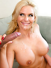 Phoenix Marie hasn't been fucked in a whole month! To make matters worse, her date just cancelled on her. She was almost guaranteed to get cock on that date. Her co-worker over hears her and giggles a little. He doesn't believe that she can make