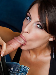 Gorgeous brunette Kortney Kane wants to have rough sex with football player