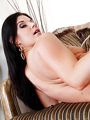 India Summer takes a big cock in her pussy and a tongue in her hot ass