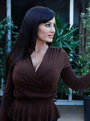 Lisa Ann forces herself on a young stud