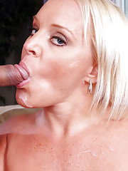 Big tit MILF Alexis Golden loves sucking and fucking young cock