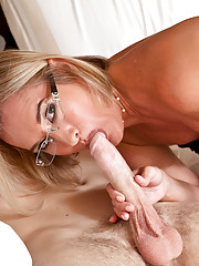 Sexy Suz seduces her son