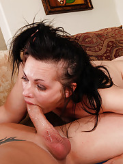 Milf gets her pussy fucked hard