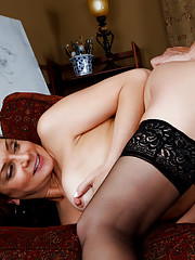 Sexy Mom fucks a friend of her son\