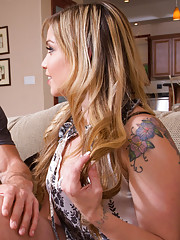 London Belle moves into new neighbor hood and decides to fuck her neighbor.