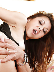 Hot Asian girl Jackie Lin loves sucking on a fat married cock