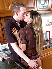 Epsperanza Gomez gets fucked hard in the kitchen